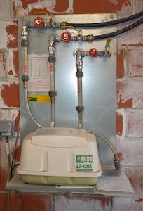 Module de désulfuration du biogaz Medo, photo Frédéric Douard