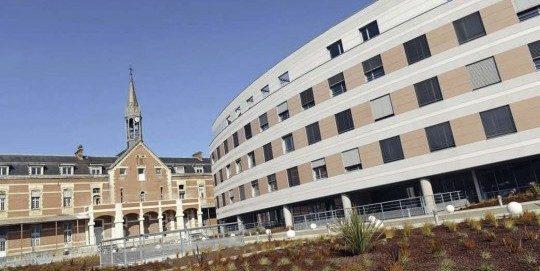 Hôpital Saint-Léon remis à neuf, photo Ville de Bayonne
