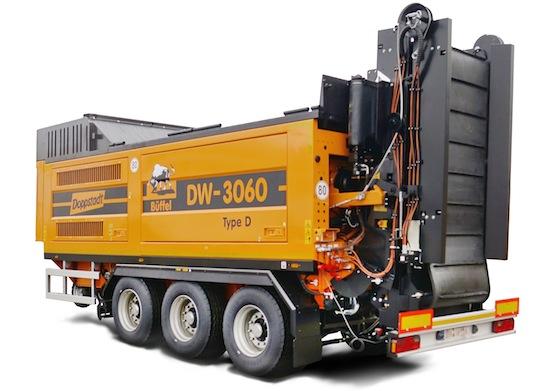 Le broyeur lent monorotor DW 3060 Biopower type D de chez Doppstadt web