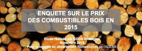 Prix bois-énergie 2014-5