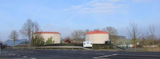 La station d'épuration des eaux usées de Burgebrach en Bavière, photo Weltec