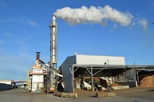 L'usine Glowood Pellets est équipée d'une installation de séchage rotatif Promill, photo ACS