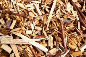 Bois déchiqueté, photo Agence Ecofin