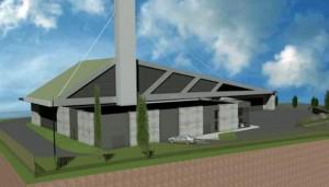 Projet architectural de la nouvelle chaufferie biomasse d'Arras-Ouest