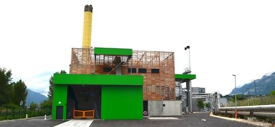 Le chauffage urbain de Chambéry renouvelable à 66% avec sa deuxième chaufferie bois