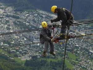 Les équipes de Joly & Philippe sont rompues aux travaux de maintenance difficiles, photo J&P