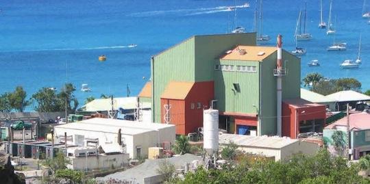 L'île de Saint-Barthélemy modernise son unité de valorisation énergétique