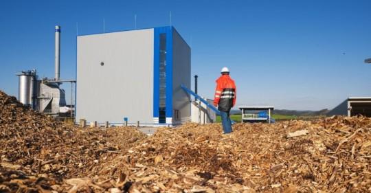 Centrale de cogénération à la biomasse de Wittgenstein en Allemagne, photo RWE Innogy GmbH
