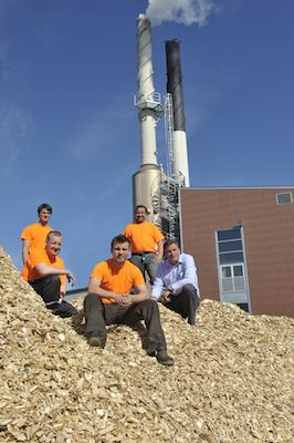 La chaufferie de Kauhava en Finlande a été l'une des premières à choisir un condenseur Caligo avec PAC, photo Kauhavan Energia