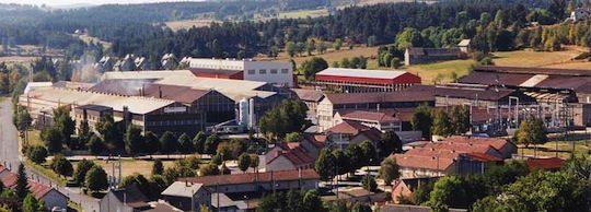 L'usine Arcelor-Mittal de Saint-Chély d'Apcher, photo Arcelor-Mittal