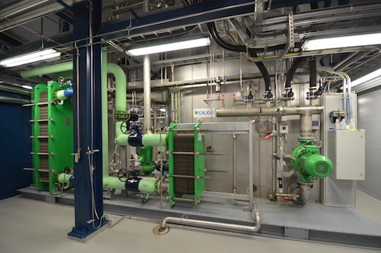 La base du laveur-condenseur Caligo de Kauhava, photo Frédéric Douard