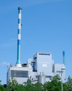 La centrale Boehringer à Ingelheim en Allemagne, photo AET