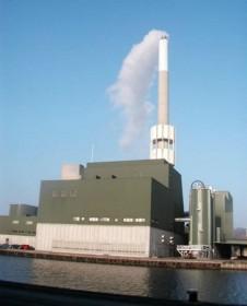 La centrale de Randers au Danemark, photo AET