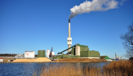 La centrale Verdo de Randers au Danemark, photo AET