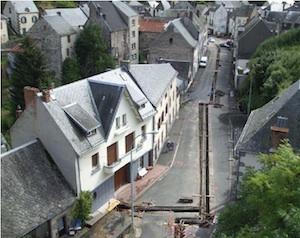 Pose du réseau de chaleur de Saint-Chely-d'Apcher, photo Engie