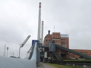 Centrale biomasse des Awirs, photo Electrabel