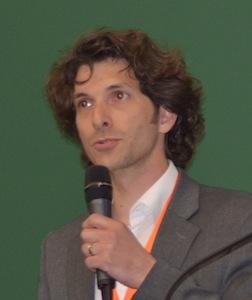 Gilles Gauthier, animateur du comité européen des granulés de bois, photo Frédéric Douard