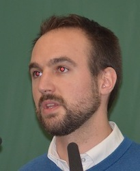 Pierre Martin, responsable bois-énergie chez ValBiom, photo Frédéric Douard