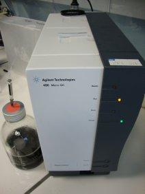 Analyse du biogaz par chromatographie phase gazeuse, photo Socor