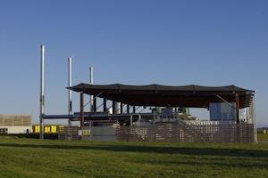 La centrale de cogénération biogaz de Trifyl, photo Trifyl