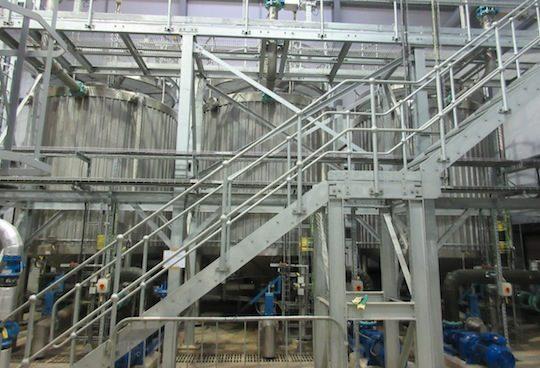 Système FlexFeed d'hygiénisation totale avec récupération d'énergie à Londres, photo Xergi