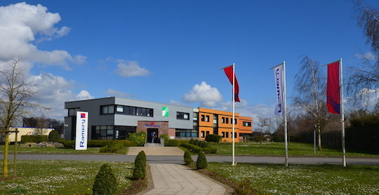Le siège de Ramery Environnement à Harnes dans le Pas-de-Calais, photo Frédéric Douard