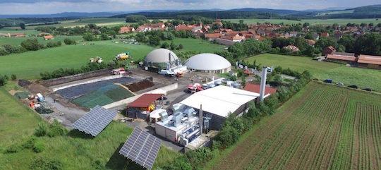 Modue ORC dans une unité de cogénération au biogaz, photo Dürr Cyplan