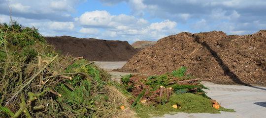 Ramery Environnement produit 80 000 tonnes de compost normé par an sur ses propres plateformes, photo Frédéric Douard