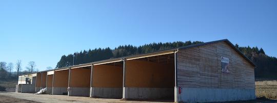 Le bâtiment de production, de séchage et de stockage de Sylvéo, photo Frédéric Douard