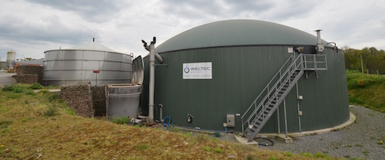 L'installation de méthanisation de Sensiénergies à Saint-Nicolas-du-Tertre, photo Frédéric Douard