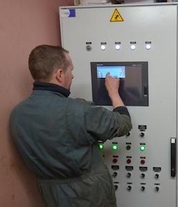 Les commandes et la supervision des installations sont assurées par un automate conçu par AES Dana, photo Frédéric Douard