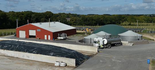 La Scea Texier solutionne l'excédent d'azote de son élevage via la méthanisation
