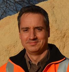 Philippe Lentz, directeur de l'usine Alpin Pellet, photo Frédéric Douard