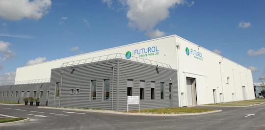 Vue du bâtiment de recherche Futurol, photo Procethol