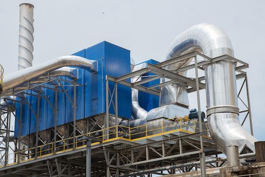 Sonae peut utiliser l'énergie des déchets de bois grâce aux multicyclones ACS