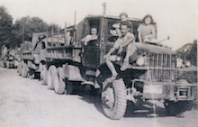 Histoire des Piskorski, la mécanisation arrive après guerre, photo Piskorski
