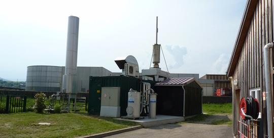 Le module de cogénération Schnell, photo François Bornschein