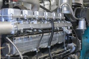Le moteur de cogénération Schnell est placé dans un conteneur insonorisé