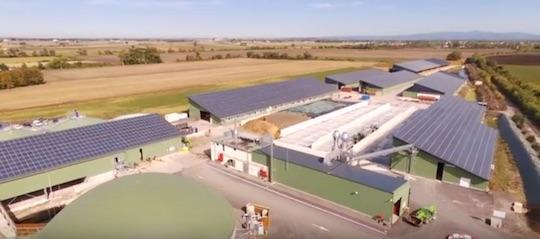 Le site produit également plus de 2MW d'électrcité photovoltaïque, photo Langa