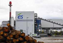 La centrale biomasse de l'Esplanade à Strasbourg, photo és
