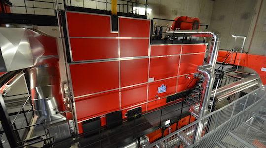 Une troisième chaudière bois WEISS de 6 MW pour le réseau de Vénissieux