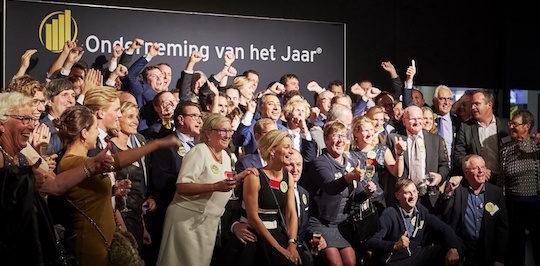 Le personnel de Vyncke, heureux et fier de la distinction, photo Vyncke