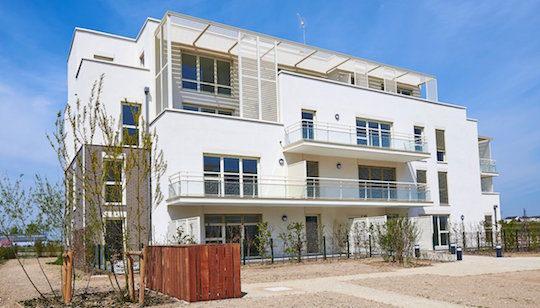 Logements de l'écoquartier Réma'Vert, photo PlurialNovilia
