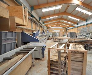 Atelier de l'ébénisterie Jean-Paul Mousset, photo Frédéric Douard