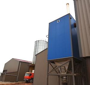 Le module de filtration optimisée des fumées ACS chez Enerphyt, photo Frédéric Douard