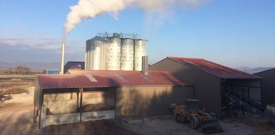 Enerphyt, une micro-bioraffinerie qui sèche ses matières à la biomasse