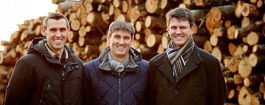 Pierre, Jean et Philippe Soler-My, photo Carbonex