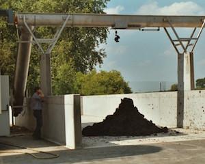 Transfert de produits pâteux par spire, photo Jean De Carvalho