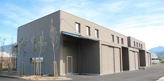 Village d'entreprises INICI, Prades, photo ComCom de Conflent Canigou