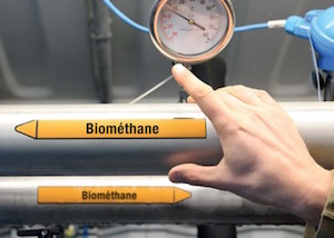 Biométhane, photo © Grégory Brandel